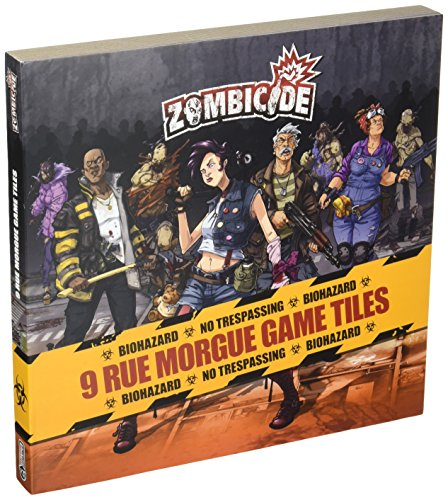 Zombicide Season 3 - 9 Rue Morgue Game Tiles Pack (English)