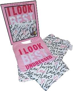 Victoria 's Secretパジャマコットンセット2I Look Best Undressed Teeパンツピンク
