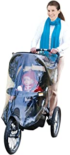 Jeep Jogging Stroller Weather Shield, Baby Rain Cover, Universal Size to fit most Jogging Strollers, Waterproof, Windproof...