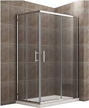 Amazon.es: mampara 120x80 - Mamparas de ducha / Duchas y componentes de la ducha: Bricolaje y herramientas