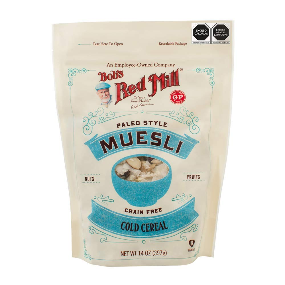 Bob's Red Mill Dedication Muesli 14 Pack 3 Ounce of Courier shipping free shipping