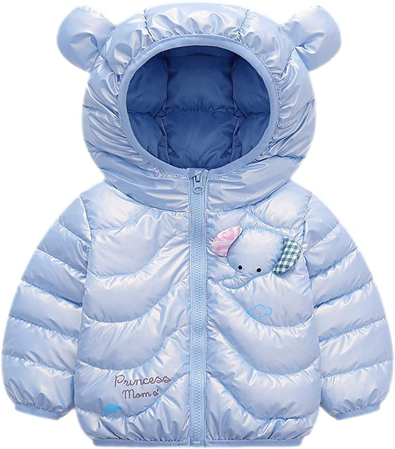 Clearance!! 6 Months-6 Years Kids Coat Boys Girls Thick Coat Pad