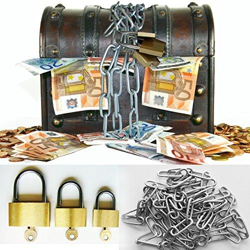 galleryy.net Hochzeitsspiel: Geldgeschenk Schatztruhe - Komplett-Set auch als Tanzspiel - Schatzkiste als Geldgeschenk.