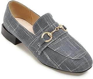 BalaMasa Womens APL12343 Pu Block Heels