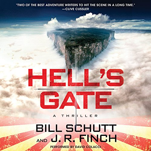 Hell's Gate audiobook cover art