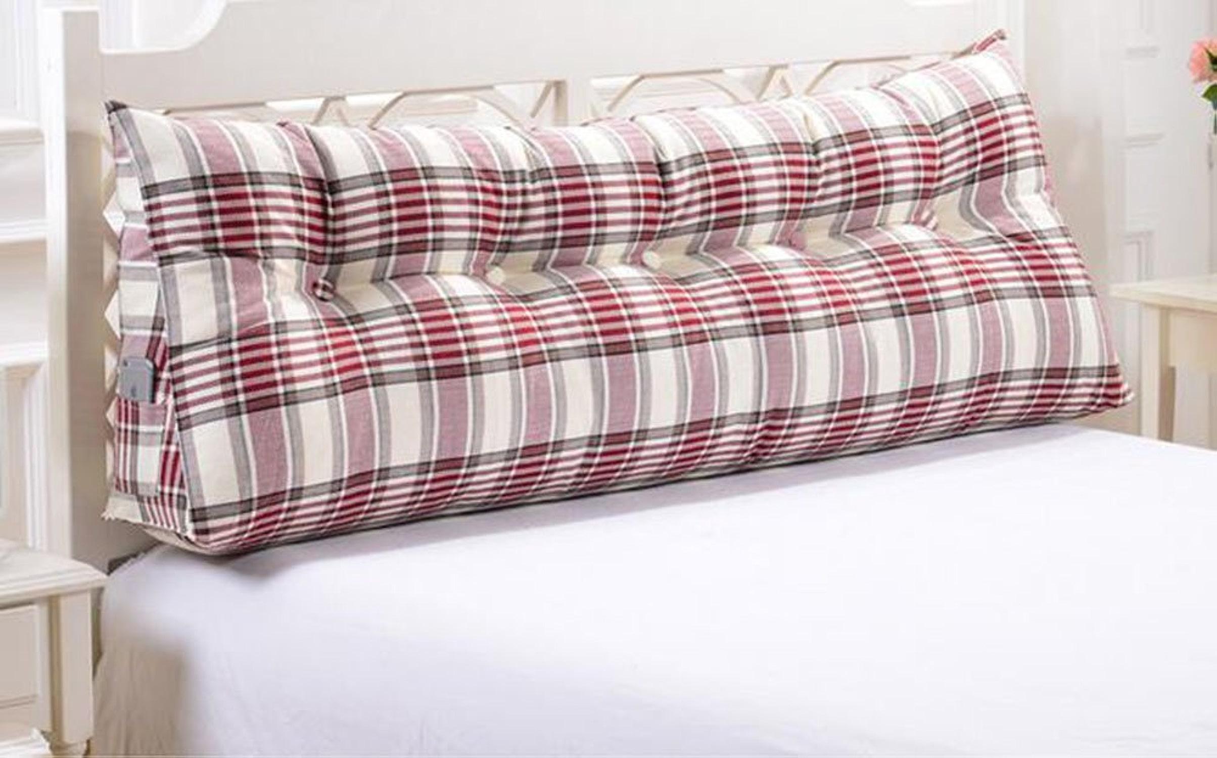 Dossier De Chevet Coussins Triangle Big Coussins Coussins Double Coussins Coussins Sofa (Couleur   A6, taille   100cm)