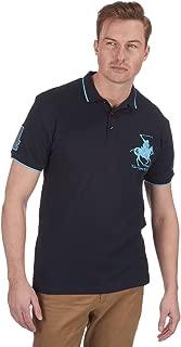 Urban Revival Mens Plus Size Polo Horse Shirt Top Tee