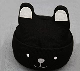 SHXLYN 0-5Y Baby Beanie Kids Hat Boy Hats Girls Winter Cap Toddler Girl Newborn Boys Cute Fox Soft Knit Caps Children Hat Props Hats & Caps