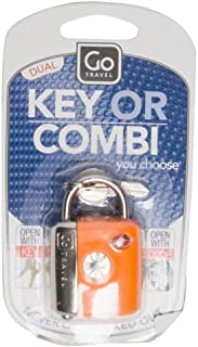 Go-Travel Dual Combi TSA Key Lock, Assorted, 337