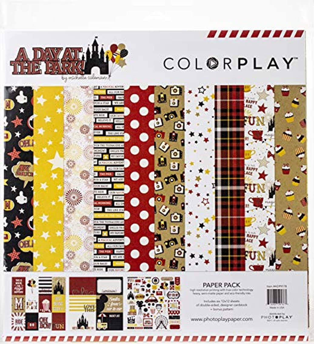 Photoplay Paper ADP9178 ColorPlay Collection Pack 12