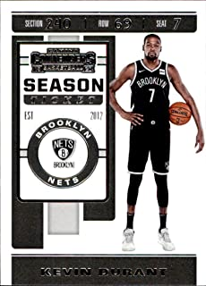 2019-20 Panini Contenders Basketball #57 Kevin Durant Brooklyn Nets Basketball Card