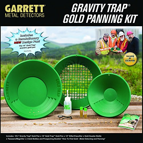 GARRETT Gold Pan Kit 13275 Goldsucher-Set