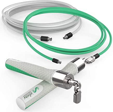 Crossrope Get Lean - Weighted Jump Rope Set