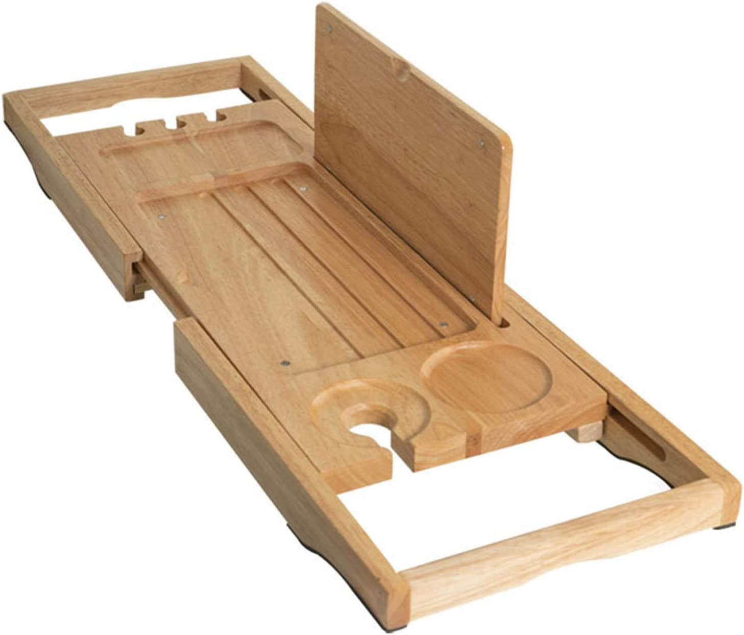 Xinrangxin Bamboo Bathtub Seasonal Wrap Introduction Caddy Mail order cheap Tray Not for Glass Extendable