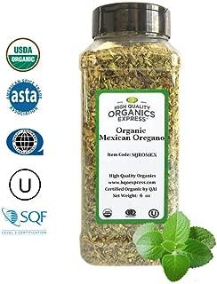 HQOExpress   Organic Mexican Oregano   6 oz. Chef Jar