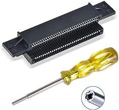 EEEKit 72 Pin Replacement Connector Cartridge Slot and 3.8mm Screwdriver Bit Open Tool for Nintendo NES 8 Bit System