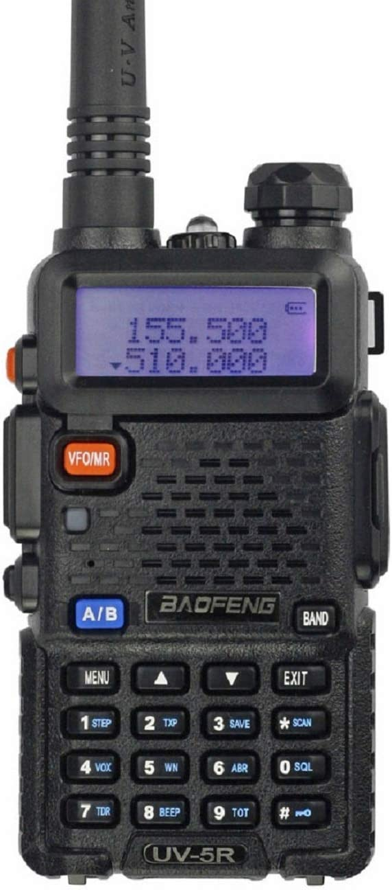 BAOFENG UV-5R Dual Band Spring new work one after another Two Radio Black Max 66% OFF Way
