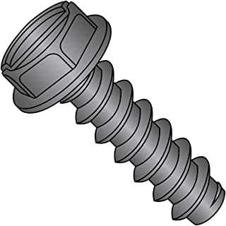 Package of 500 #10 x 3 Hex Washer Head Slotted Sheet Metal Screw Zinc Plated Set #RD-2777FST Warranity by Pr-Mch pcs