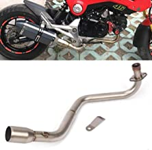 Motorcycle Header Pipe Link Low Full Exhaust System For HONDA Grom MSX 125 13-19