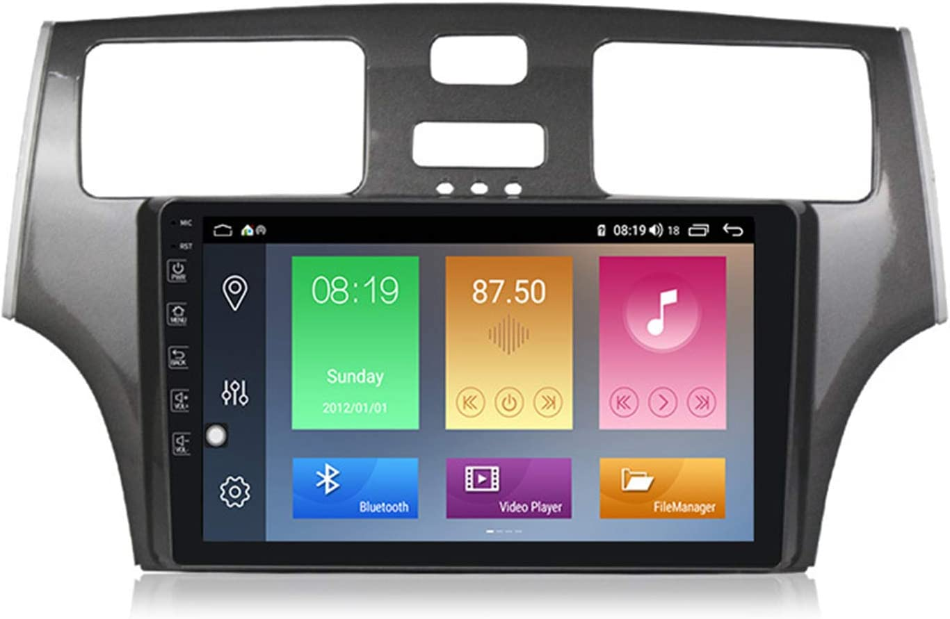 9 Inch Navigation Systems for Lexus ES250, Multimedia Radio Android 10.0 Support Split-Screen/7 Lights/BT/Rear Camera/Carplay/DAB/OBD/TPMS