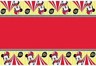 Disney Mickey Carnival Plastic Tablecover One Size