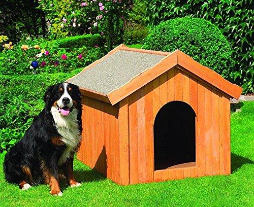 Promadino Hundehütte groß 114 x 102 x 96 cm Hütte 352/5 wärmeisoliert