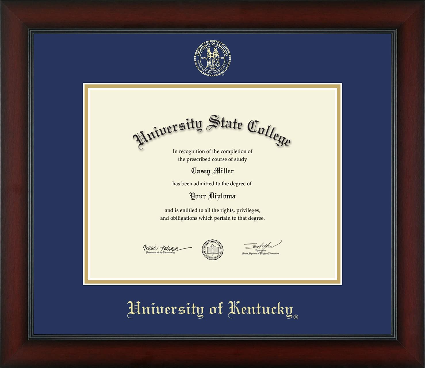 University of Kentucky - Officially Bachelor's New arrival Licensed Master Cheap mail order shopping