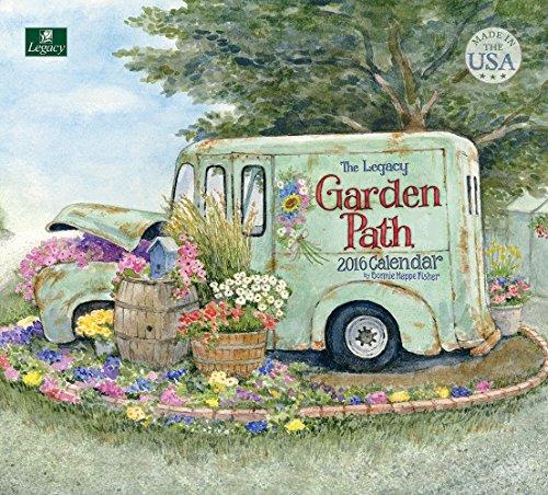 Legacy Publishing Group 2016 Wall Calendar, Garden Path (WCA21223)