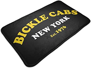 HUTTGIGH - Tapete antideslizante para taxista, para puerta de entrada, alfombra de baño de cocina, de 19,5 x 31,5 pulgadas