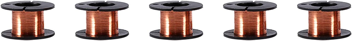 Portland Mall Super popular specialty store Akozon 5pcs Enameled Wire Copper Wound 0.1mm
