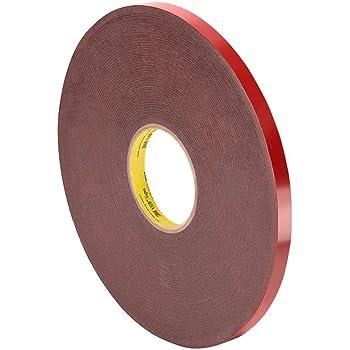 "3M - 4611 0.25"" x 36yd VHB Tape 4611, 0.25 in width x 36 yd length, 1 roll"