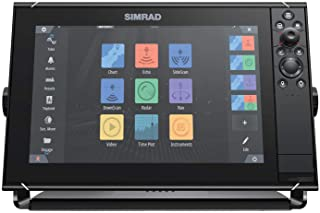 $3999 » Simrad NSS12 Evo3S - 12-inch Multifunction Fish Finder Chartplotter with Preloaded C-MAP US Enhanced Charts