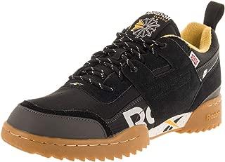 Mens Workout Plus Ripple Mu Sneaker, Adult, Outdoor-Black/Fierce Gold