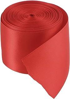 Artibetter 1 Rollo 10 M Cintas de Envoltura de Regalo de la Cinta del Grosgrain Doble Cara de Bricolaje para el Embalaje d...