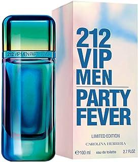 212 VIP Men Party Fever By Carolina Herrera Eau De Toilette For Men - 100 Ml