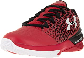 Under Armour Men's UA ClutchFit Drive 3 Low Red/Black/White Sneaker 11.5 D (M)