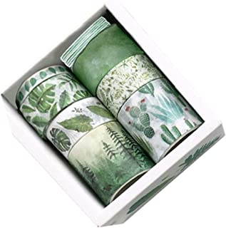 Guangcailun 8 Rolls Washi Tape doe-het-Craft Washi Tape Set maskeren Decoratieve Tapes Home Festival Scrapbook