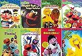 Ultimate Sesame Street DVD Collection - Learning & Educational 8-Pack: Follow That Bird / Rock & Roll / Fiesta - Elmo, Big Bird, Bert, Ernie & More