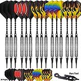 CyeeLife 15 Packs-Soft tip Darts 18 Grams Professional -180 Tips-30...