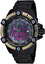 Invicta Men's Star Wars Automatic-self-Wind Watch with Stainless-Steel Strap, Black, 24 (Model: 26558)