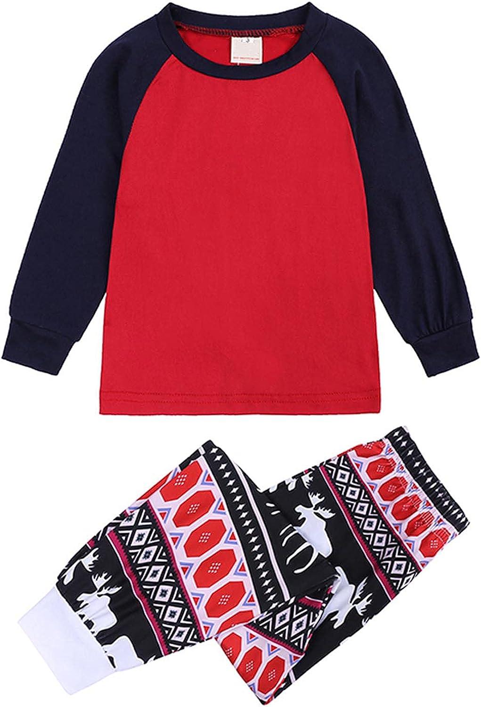Pajamas Matching Sets Christmas Matching Family Pajamas Tops Long Pants Sleepwear Xmas Pjs 2 Piece Sets