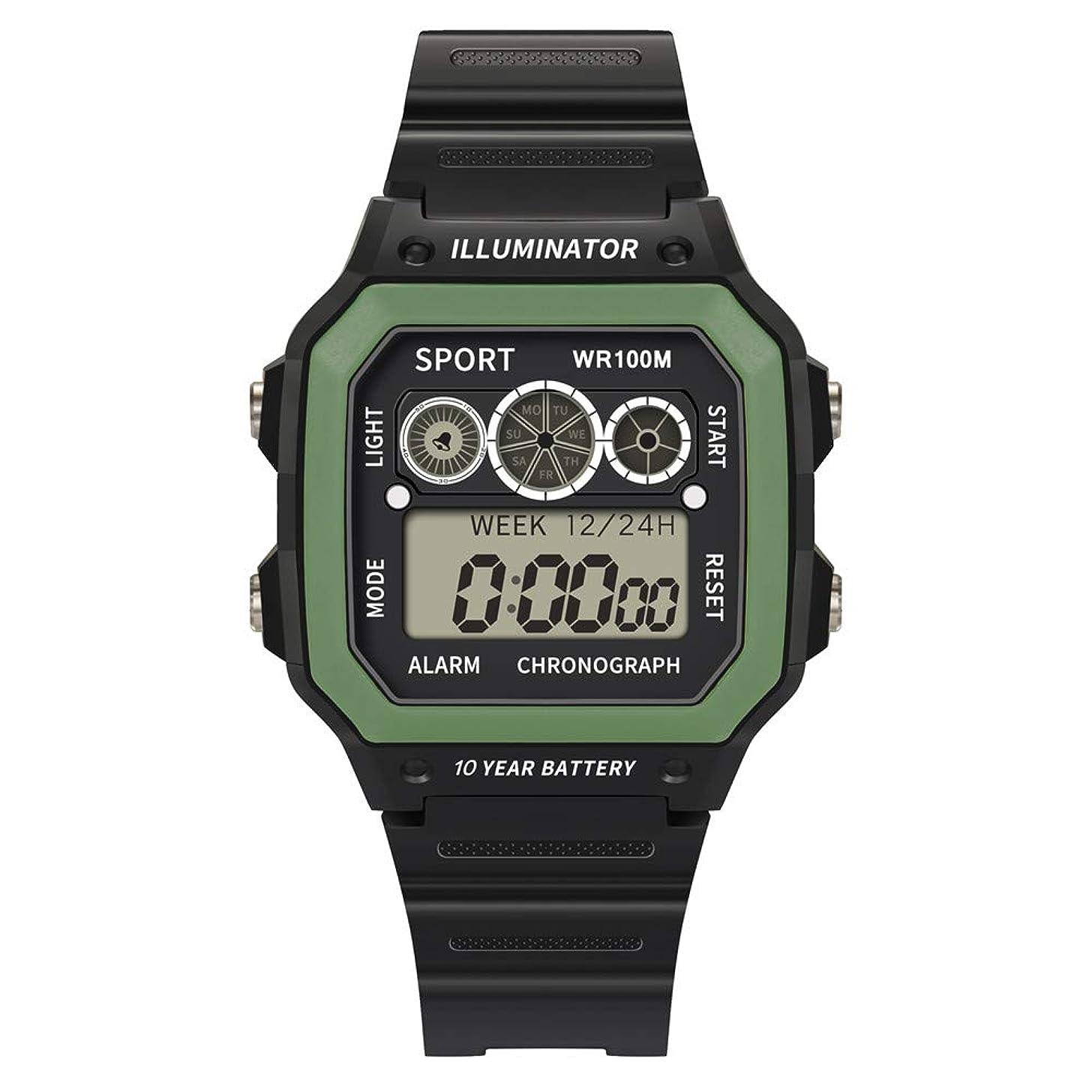Guartz Watches for Men Digital Under 10 Dollars ? Luxury Men Analog Digital Military Sport LED Waterproof Wrist Watch