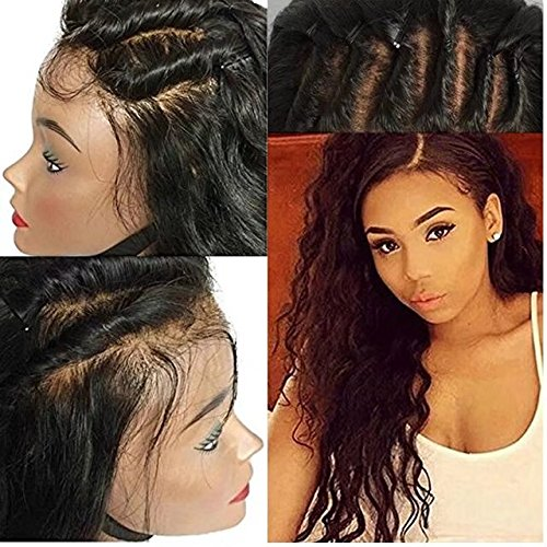 Lace Front Human Hair Wigs Glueless Brazilian Perruque Cheveux Humain Full Lace Wigs Loose Body Wave Sans Colle 180% Density Lace Wigs with Baby Hair