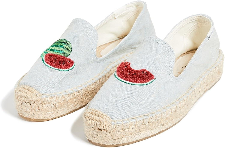 Soludos Women's Watermelons Smoking Slipper