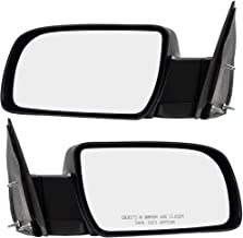 Best Pair Set Manual Side View Mirrors w/Metal Bases Replacement for 88-00 C/K Pickup Truck 15764759 15764760 Review