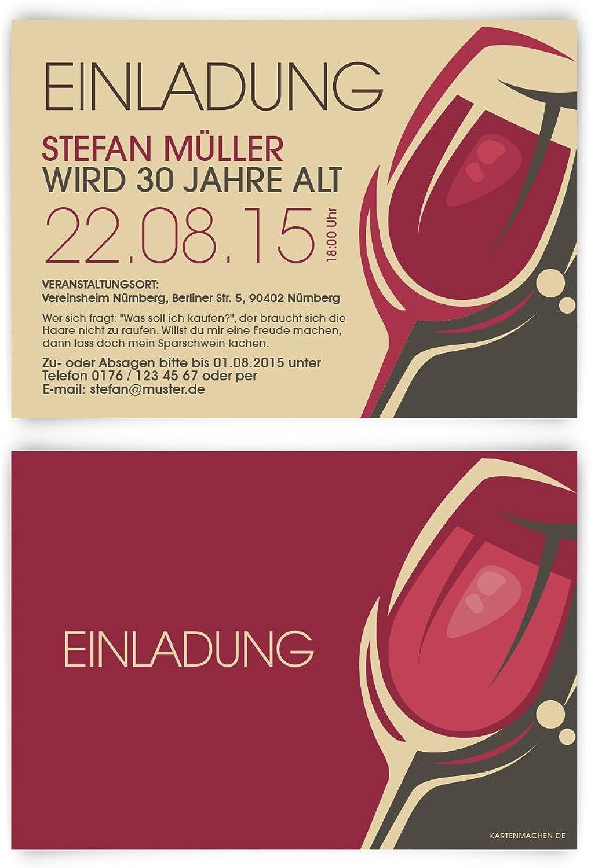 Einladungskarten zum Geburtstag (60 Stück) Rotwein Rot Wein Glas Trauben Trauben Trauben Einladung B00QM92TAW   Spielzeugwelt, fröhlicher Ozean  9aeae6