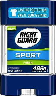 Right Guard Sport Antiperspirant Deodorant Gel, Fresh, 3 Ounce (Pack of 6)