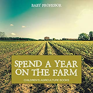 Spend a Year on the Farm audiobook cover art