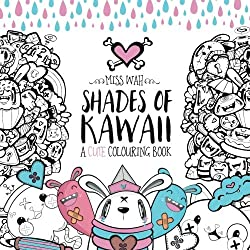 Shades of Kawaii - A  Cute Coloring Book