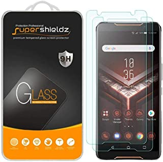 Asus Rog Phone Tempered Glass Screen Protector (2 packs) Anti Scratch, Bubble Free, Anti-Fingerprint, Ultra Clear, Supersh...